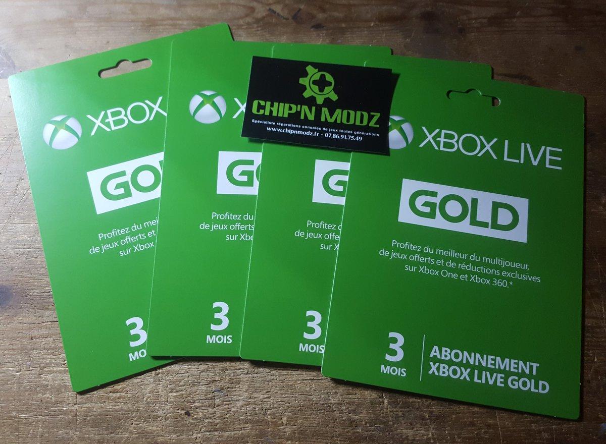 Abonnement Xbox Live Gold 12 Mois Xbox One Et Jeux Xbox One Sur Xboxygen