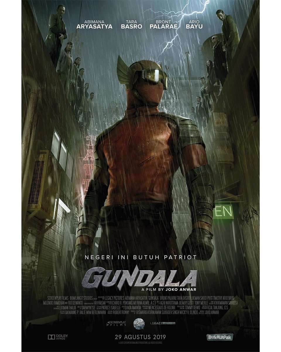 "Gundala Official on Twitter: ""POSTER GUNDALA #gundala ..."