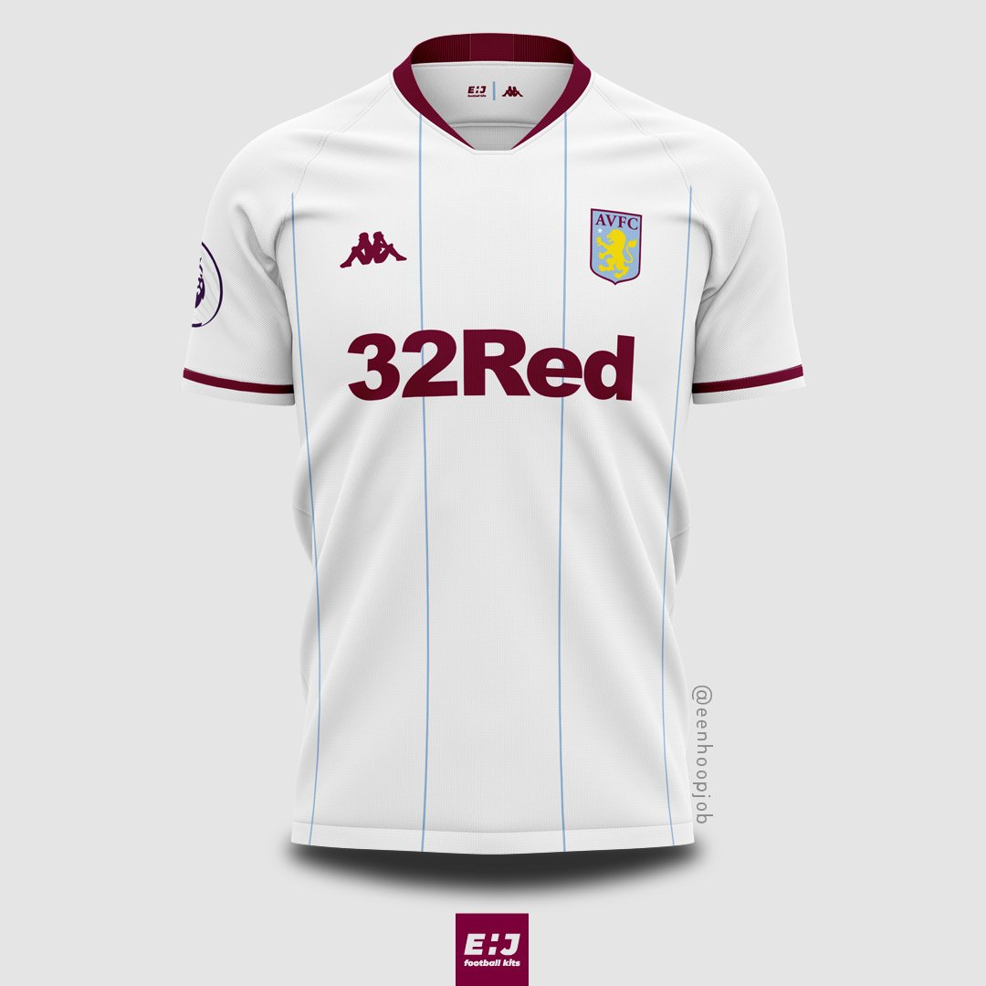 56d507923 Aston Villa FC x Kappa concepts. Inspired by their retro kits. Please rate  1-10. Thoughts about these designs   astonvilla  astonvillafc  avfc   villans ...