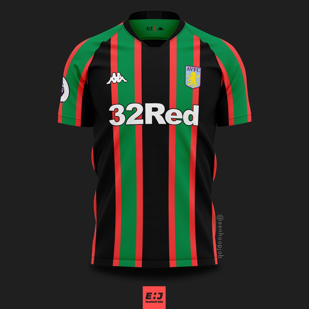 b823d1c138c Aston Villa FC x Kappa concepts. Inspired by their retro kits. Please rate  1-10. Thoughts about these designs   astonvilla  astonvillafc  avfc   villans ...