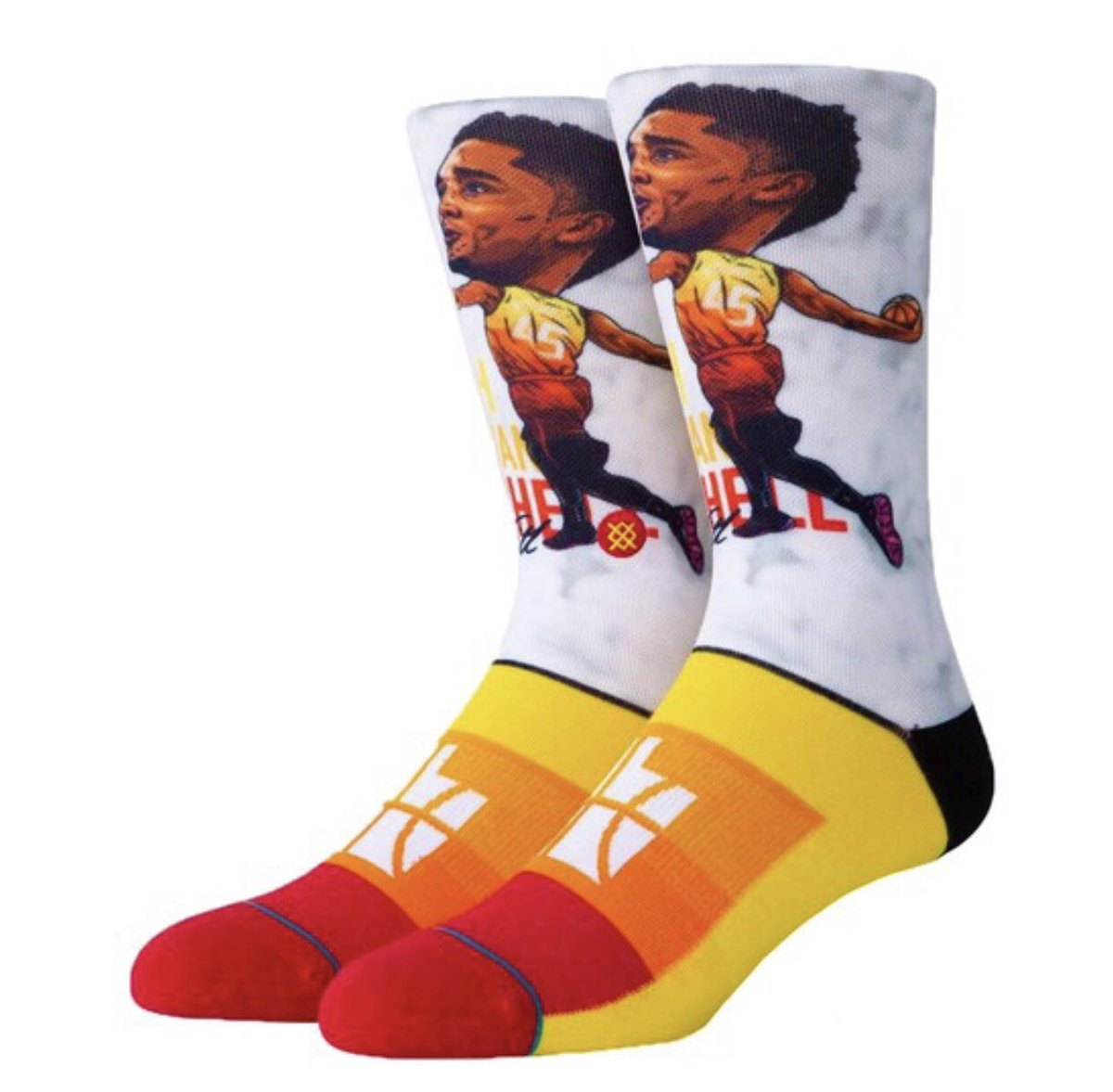 b96dc0e5219 Donovan Mitchell, Vivint Arena, Utah Jazz and Stance