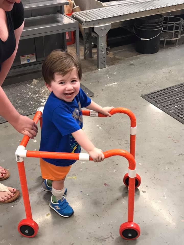 Twitter Rages About A Family Having To DIY Vital Medical Equipment For Their Toddler