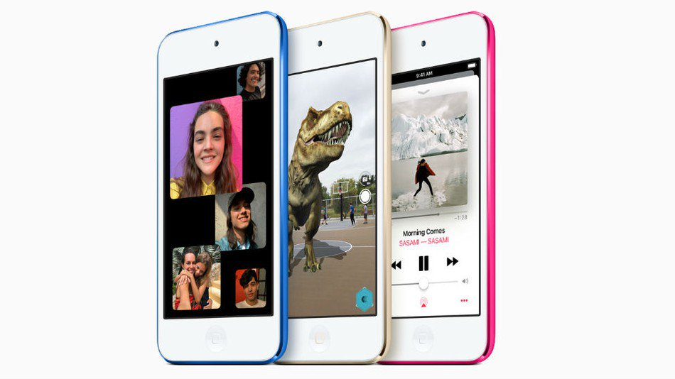 Surprise! Apple just dropped a new iPod touch