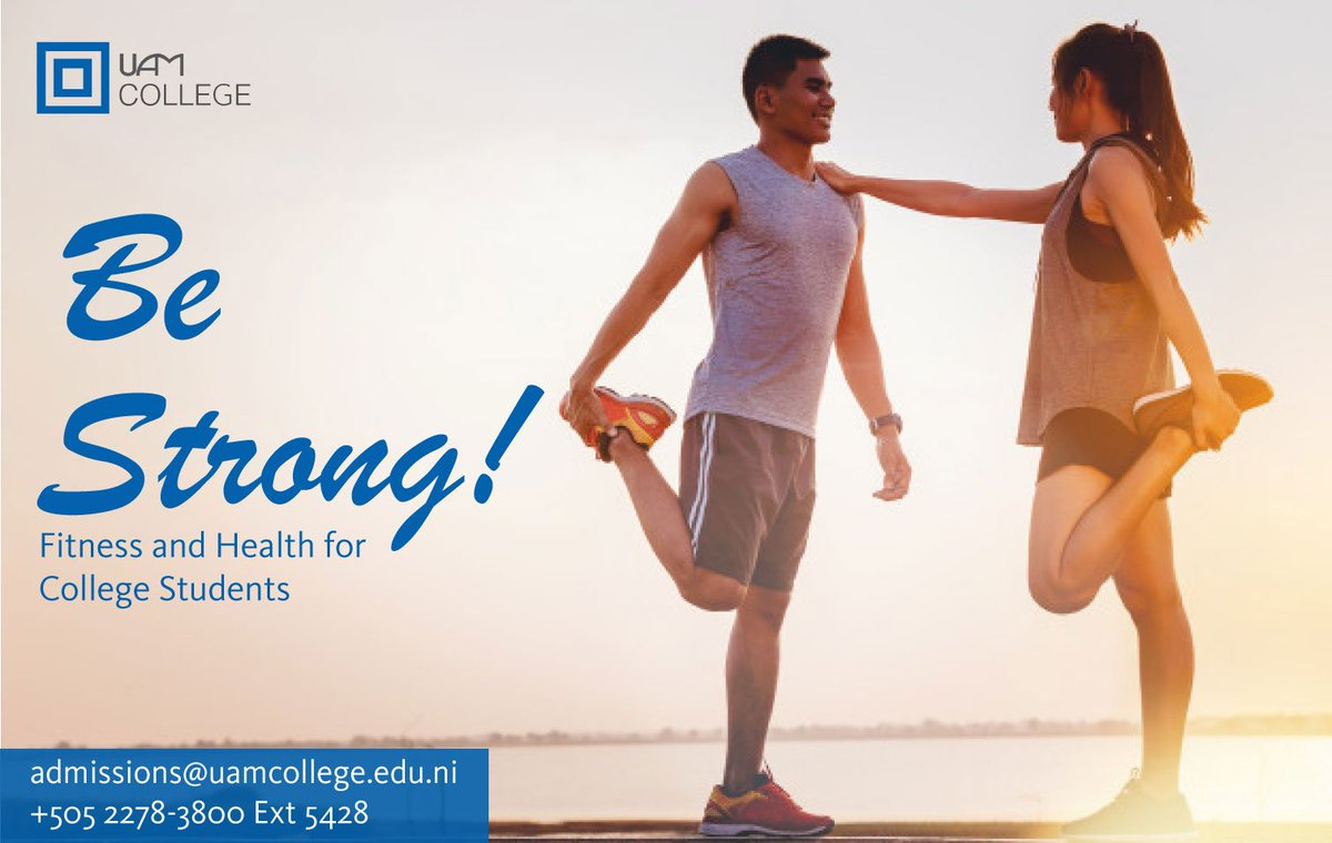 We invite you to participate in our ¨Be Strong¨ program focused on fitness, nutrition, and health.  We will be offering the course this coming Summer Sessions.  Join the fit life and be strong!  #BeStrong  https://t.co/s8kUj5dAVm https://t.co/q2Wk8kw4O0