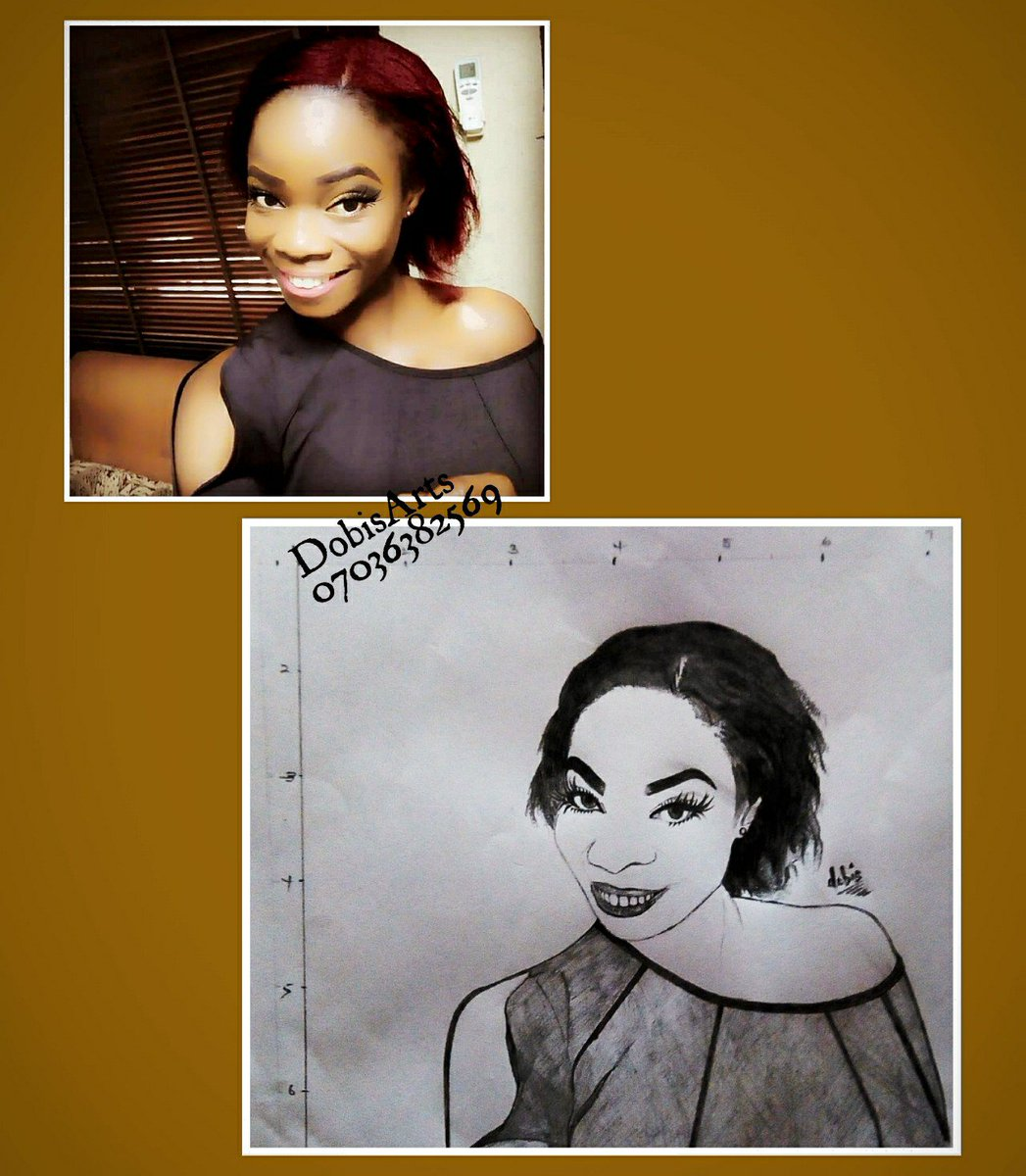 Took it back a Lil to my humble beginning  #throwbackdrawing #portraitchallenge #WeAreNigerianCreatives https://t.co/7U6Mq5iund