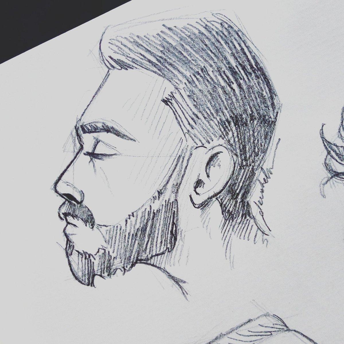 Breathe #dailyart #dailyillustration #pencil #face #portrait #breathe https://t.co/A900SxSqGU