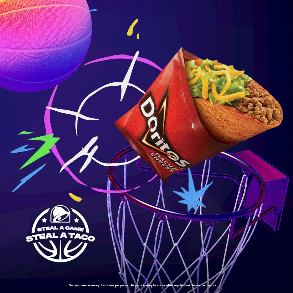 Here's how to get free Taco Bell today thanks to the Golden State Warriors