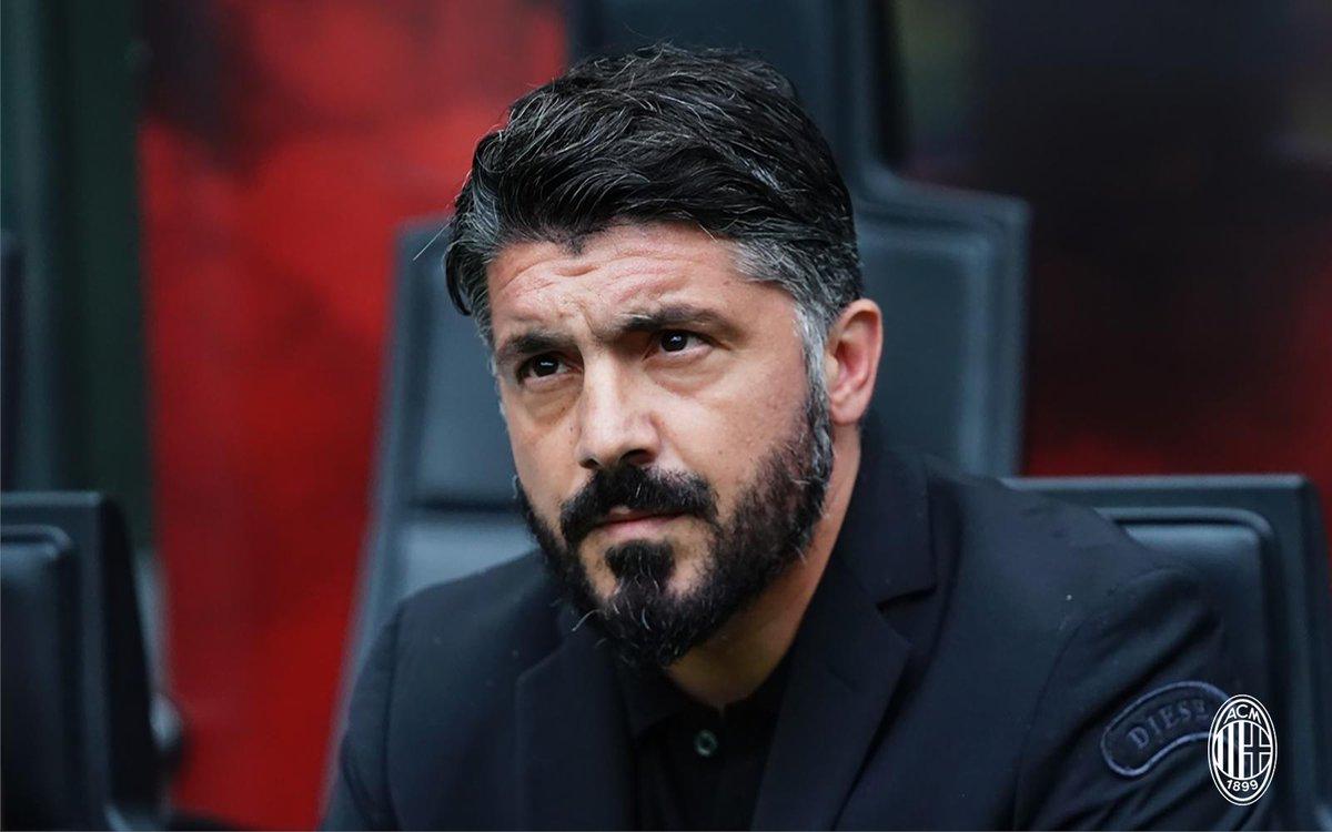 Gattuso n'est plus l'entraîneur du Milan AC