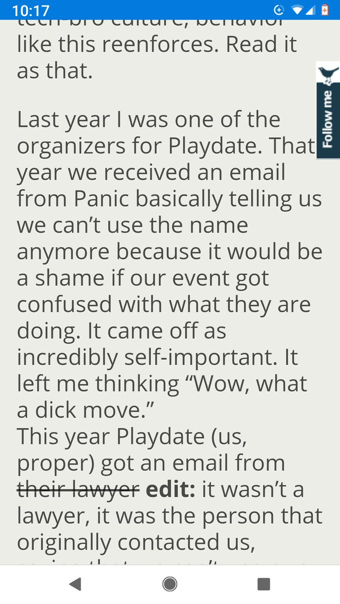 A thread written by @tarngerine: