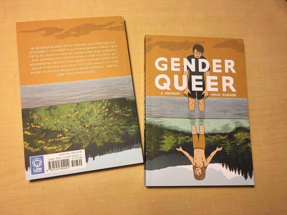 Image result for gender queer: a memoir maia kobabe