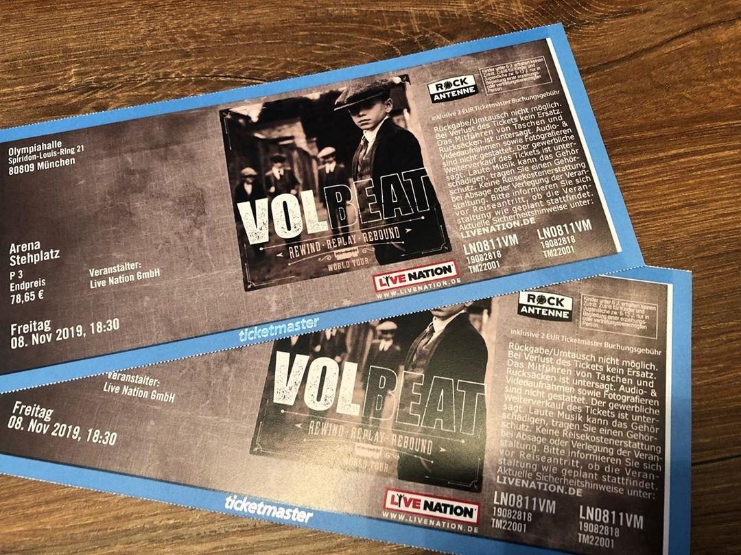volbeat (@volbeat) توییتر