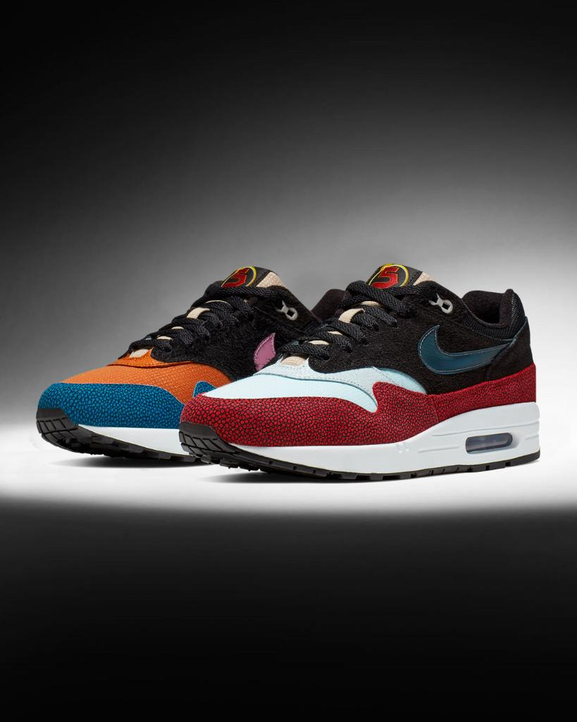 6174874b8f #Nike Summer Blockbuster is coming. #Nike Air Max 1 by @swipathefox arrives  this Saturday!pic.twitter.com/26htOgrVfJ