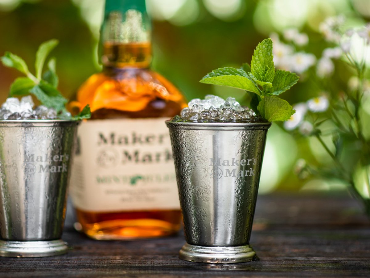 Are you ready for #NationalMintJulepDay on Thursday? Shop for the seasonal Mint Julep bottle right here: https://makersmarkshop.com/