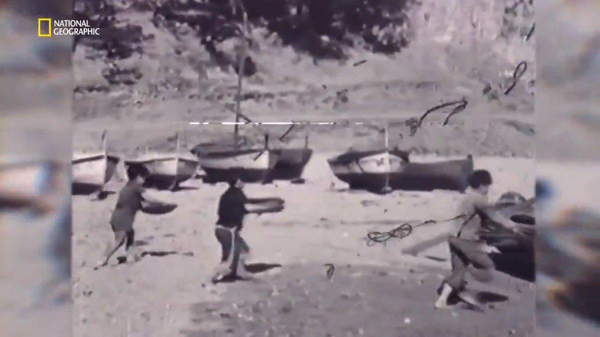 Image for the Tweet beginning: Estas son imágenes de 1945.