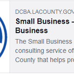 Image for the Tweet beginning: Did you know that @LACountyDCBA