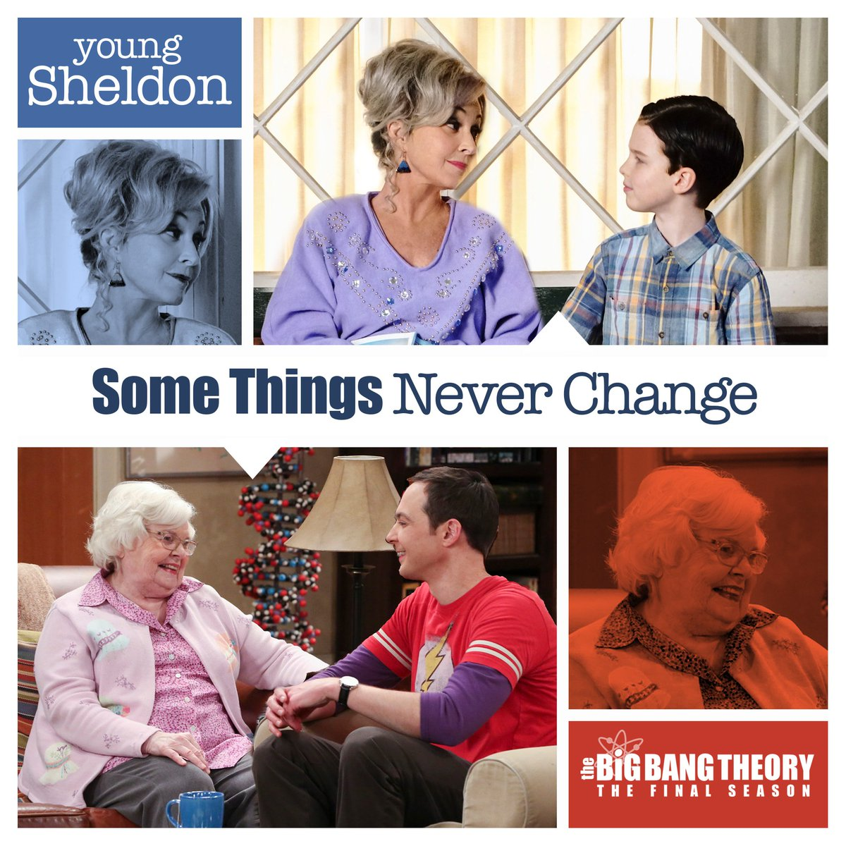 """""""It's a good thing I love you."""" - Meemaw, @YoungSheldon"""