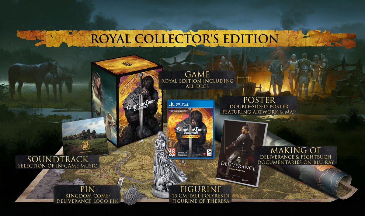 Pre-Order to get your hands on this extremely limited, collectors edition.  Pre-Order here: https://amzn.to/2JFlUYR #KCDpic.twitter.com/vAXKXRHzQ6