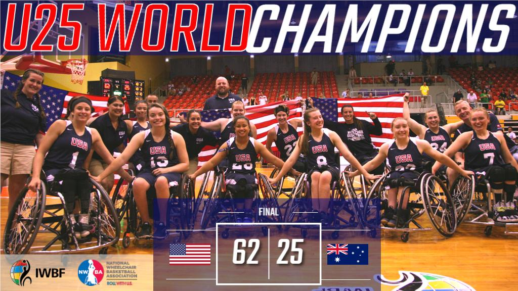 Team USA brings home the GOLD at 2019 Women's U25 World Championships in Suphanburi, Thailand! 🏆