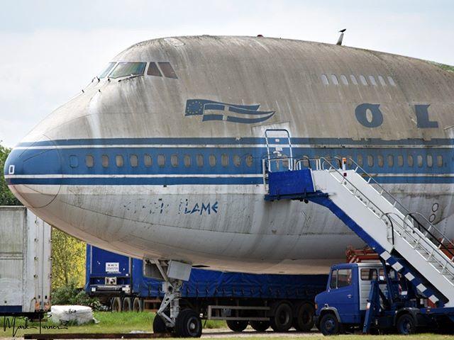 25/05/2019 - Bruntingthorpe Airfield  Ex Olympic Airlines SX-OAD Boeing 747-200  #olympicairlines #boeing #747 #bruntingthorpe #avgeek #POTN #spottersalliance #theukspotters #airportmagazine #aviation #aviationlovers #aviationphotography #loveplanespot #… http://bit.ly/2QrrL4g