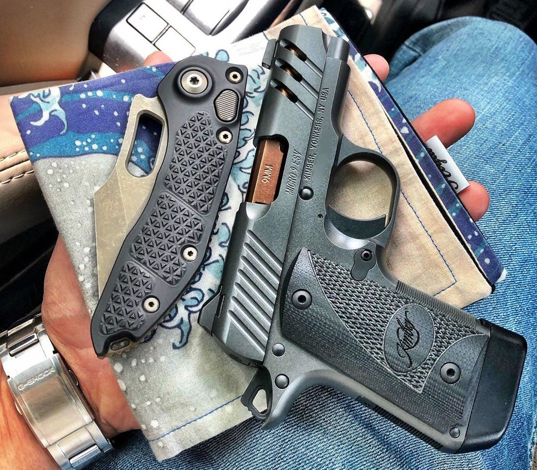 Would you be proud to pack this Micro 9 ESV and Microtech Knives