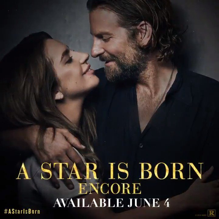 In one week own #AStarIsBorn  Encore with extended scenes and never before seen footage.   http://www.astarisbornmovie.com/#/Buynow/