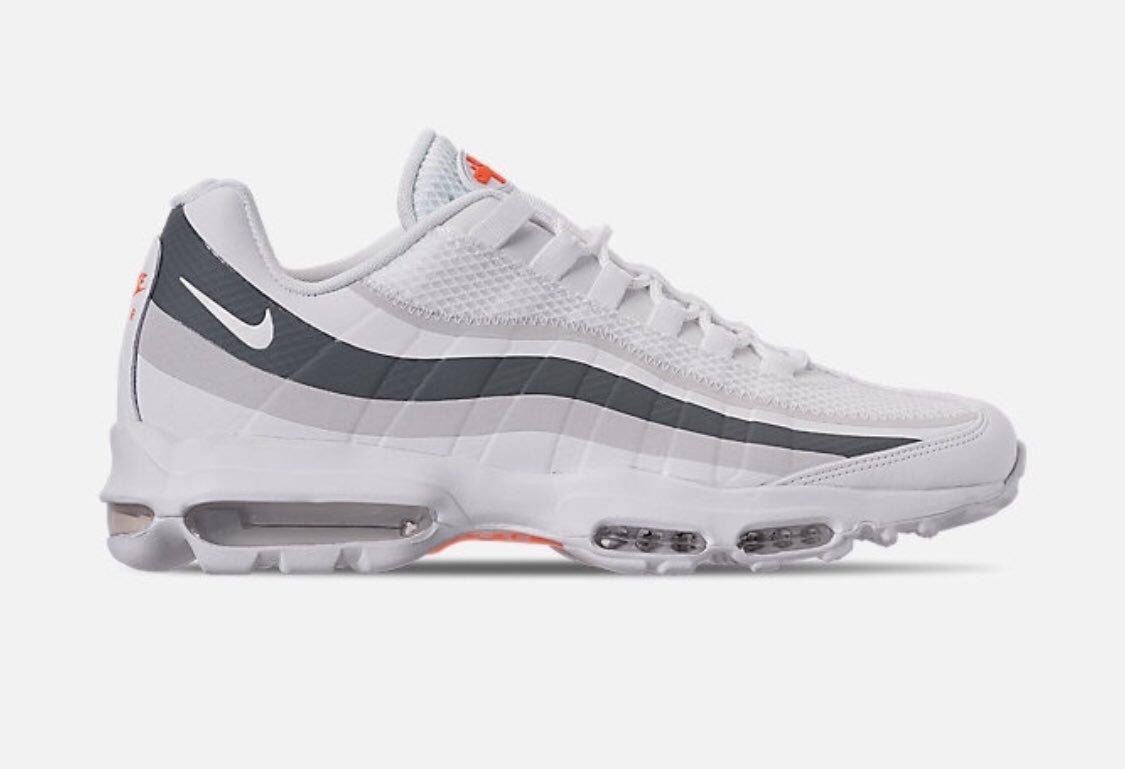 air max 95 ultra grey and orange