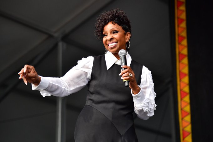 Happy birthday to the one and only Gladys Knight. Here\s to another 75 years . ( : Getty)