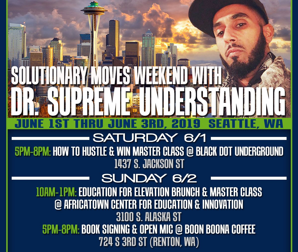 The Marathon Continues...Solutionary Moves Weekend w/ Dr. Supreme Understanding - mailchi.mp/598e6e734ead/t…