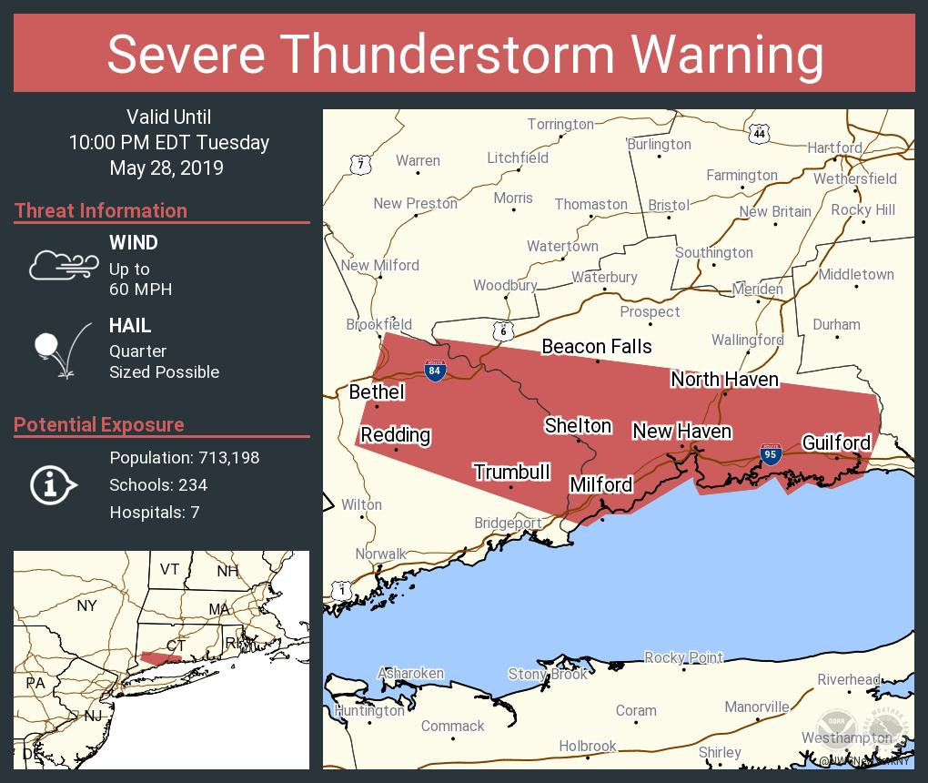 Nws New York Ny On Twitter Severe Thunderstorm Warning Continues