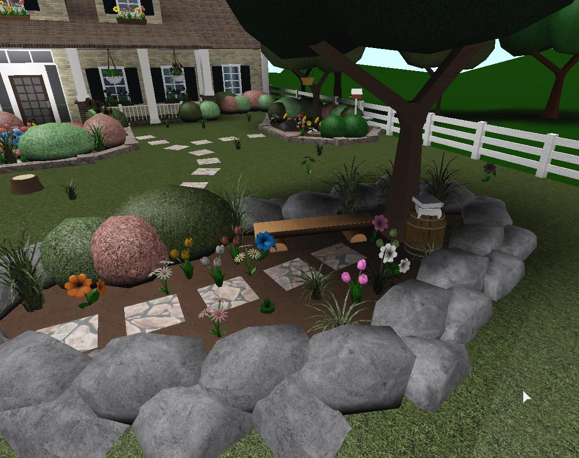 Backyard Ideas Cool Backyard Ideas Bloxburg