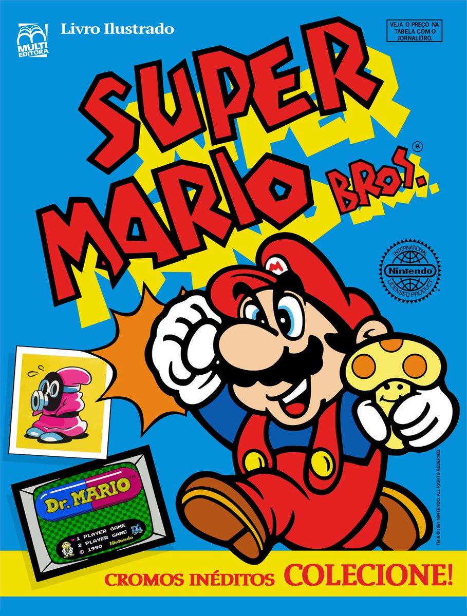 Random Scans On Twitter Super Mario Bros Sticker Album 1991
