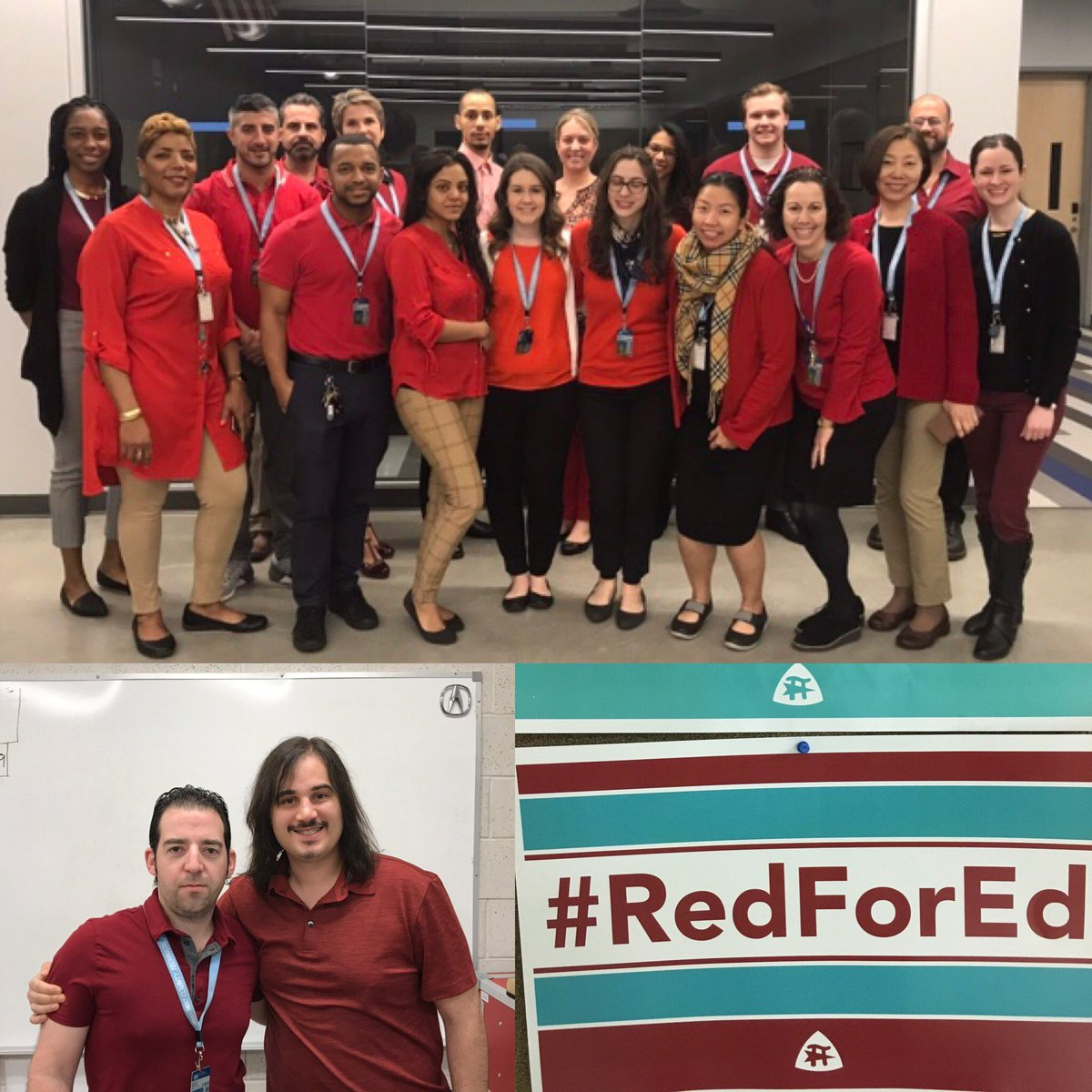 21113e4b Send us your photos of you and your colleagues wearing red so you could be  featured in our next post. Let's make a difference together!  pic.twitter.com/ ...