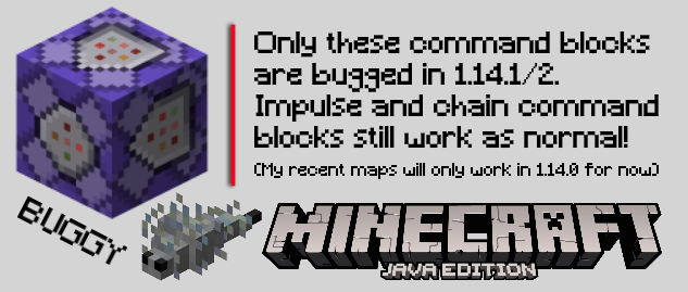 Minecraft Command Block Bug