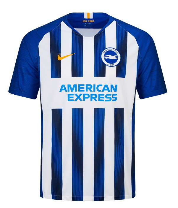 6ce05dccb ... black away shirt for the 19/20 season.  https://www.footballkitnews.com/23130/new-brighton-hove-albion-shirts-2019-2020-bhafc- home-black-away-kit-19-20/ ...