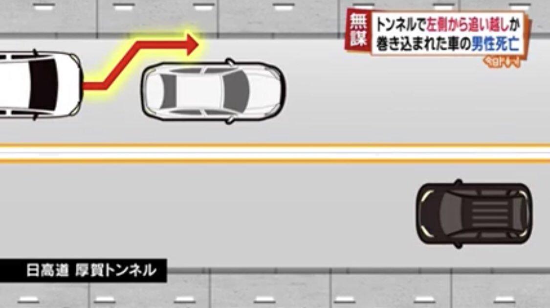最近の事故は理解できない・・・ワゴン車がキチガイすぎる運転・・・