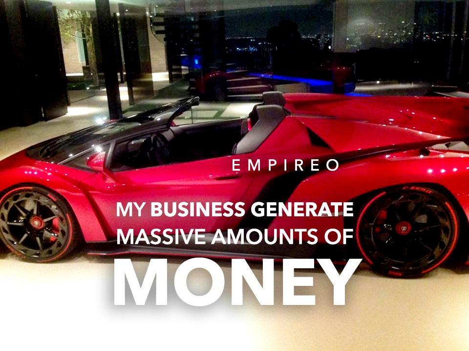 "Your Business generates #MASSIVEAMOUNTS of #MONEY  ""QUANTUM LEAP TO MILLIONAIRE""💰💎 ▶️ I want to know more about the program  #MILLIONAIREMINDSET #LUXURYLIFE #ENRICHYOURMID"