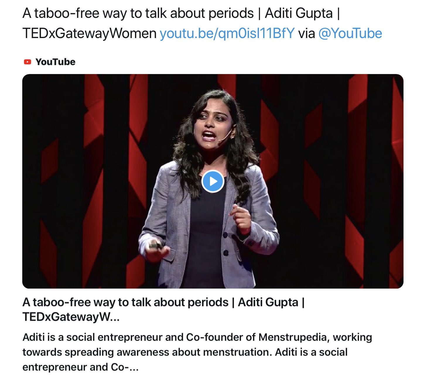 a taboo free way to talk about periods