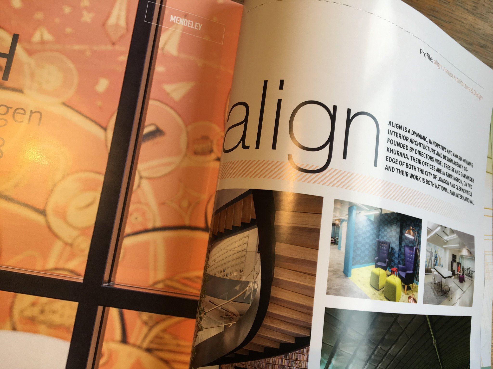 Align On Twitter Align Is A Dynamic Innovative And Award Winning Interior Architecture And Design Agency So Begins The Amazing 6 Page Profile Of Our Business In The New Premier Construction Magazine Https T Co Gavxzpp48m