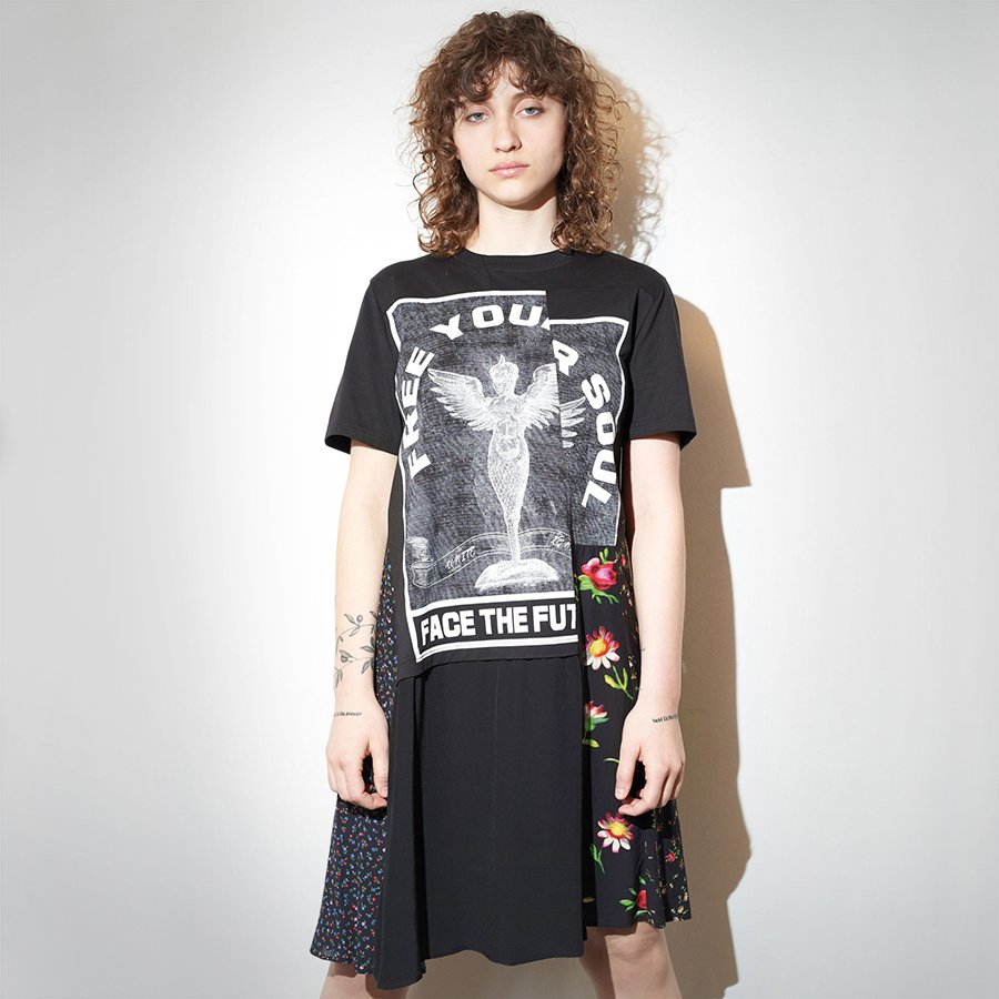 75e5fca6 Shop the @mcq Decon Hybrid T-Shirt Dress online or in-store now:  https://bit.ly/2W8QfWa A summer-worthy dress by McQ Alexander McQueen  #McQAlexanderMcQueen ...