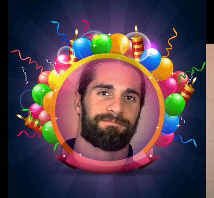 Happy birthday Seth Rollins