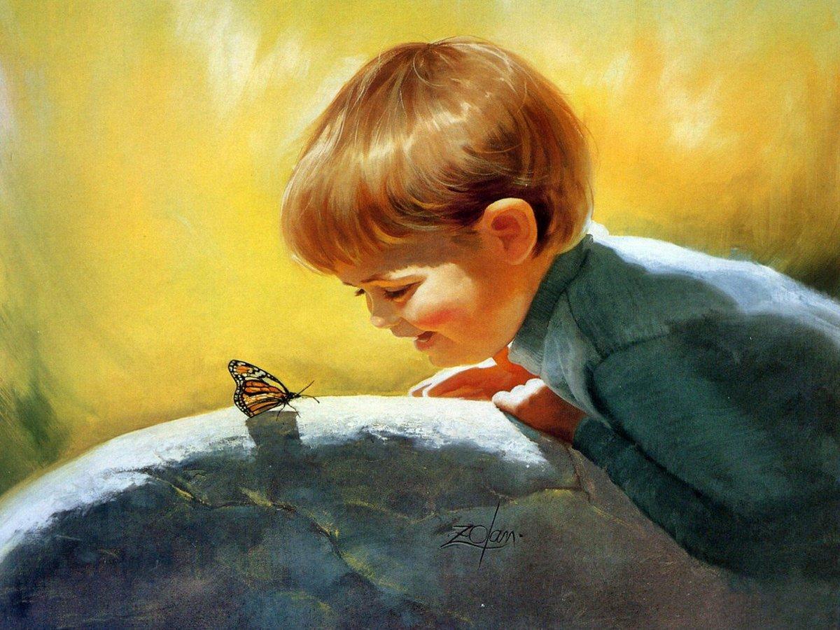 Картинки детский взгляд на мир