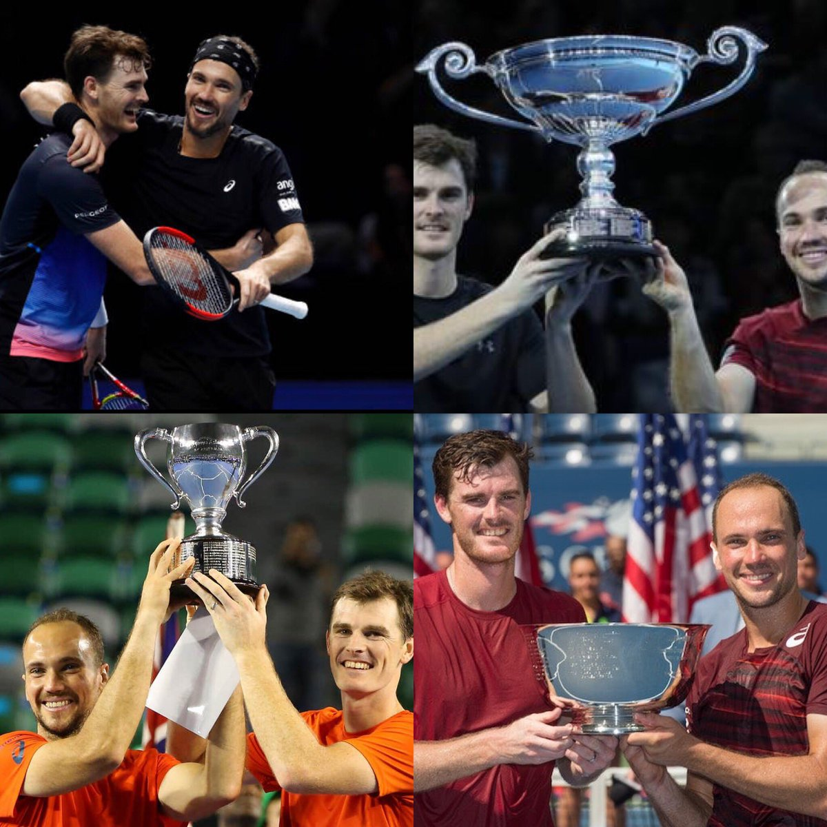 So many fun and memorable moments on and off the court with @BrunoSoares82 over the last few years. 🤗