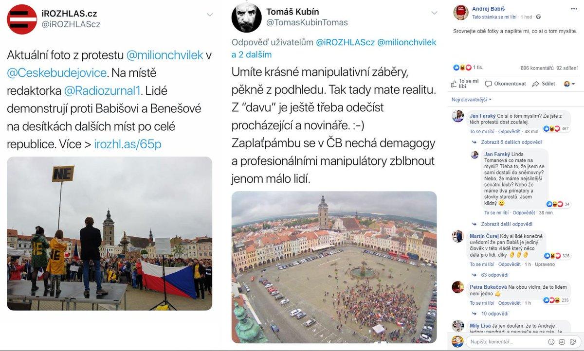Na facebooku se @AndrejBabis do nás pustil. Doporučujeme si přečíst celý náš článek a nevycházet jen z jedné fotky, kterou jsme dali na twitter.  Srovnejte si to a napište nám, co si o tom myslíte😉 http://irozhl.as/65p