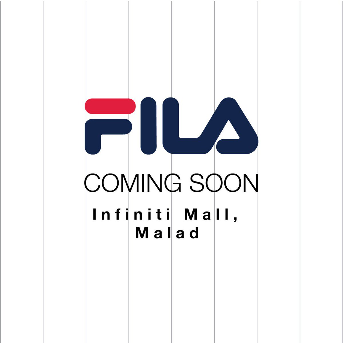 23780c3f #FILA is Coming soon at Infiniti Mall Malad. Get ready for a bag full of  shopping! #FILA #FILAIndia #OpeningSoon #InfinitiMall ...