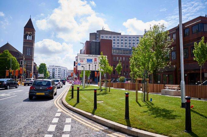 Clarendon Road Improvement works