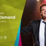 Image for the Tweet beginning: Renowned Entertainer Donny Osmond to