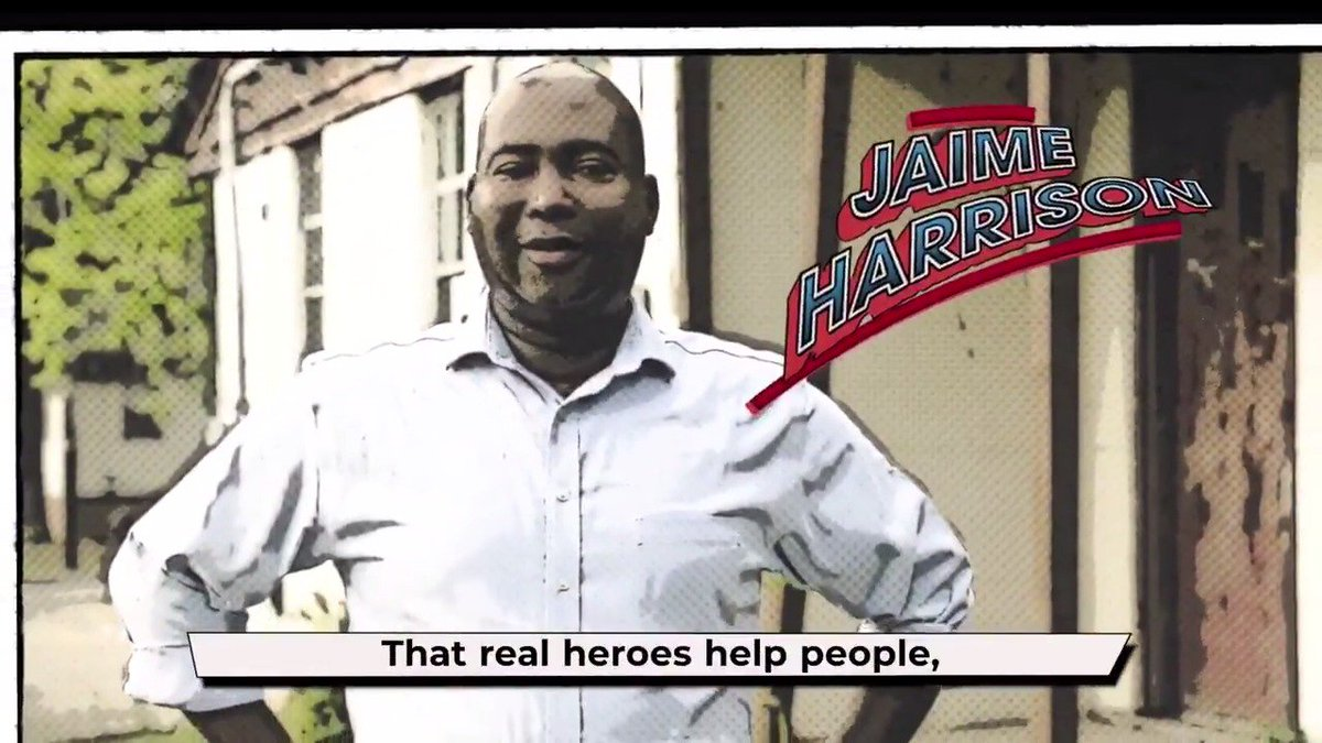 I may not be a superhero, but I am a proud South Carolinian, and Im ready to fight for a better future for our state and our country. I hope you are, too. Find out how you can #JoinJaime and get involved: jaimeharrison.com