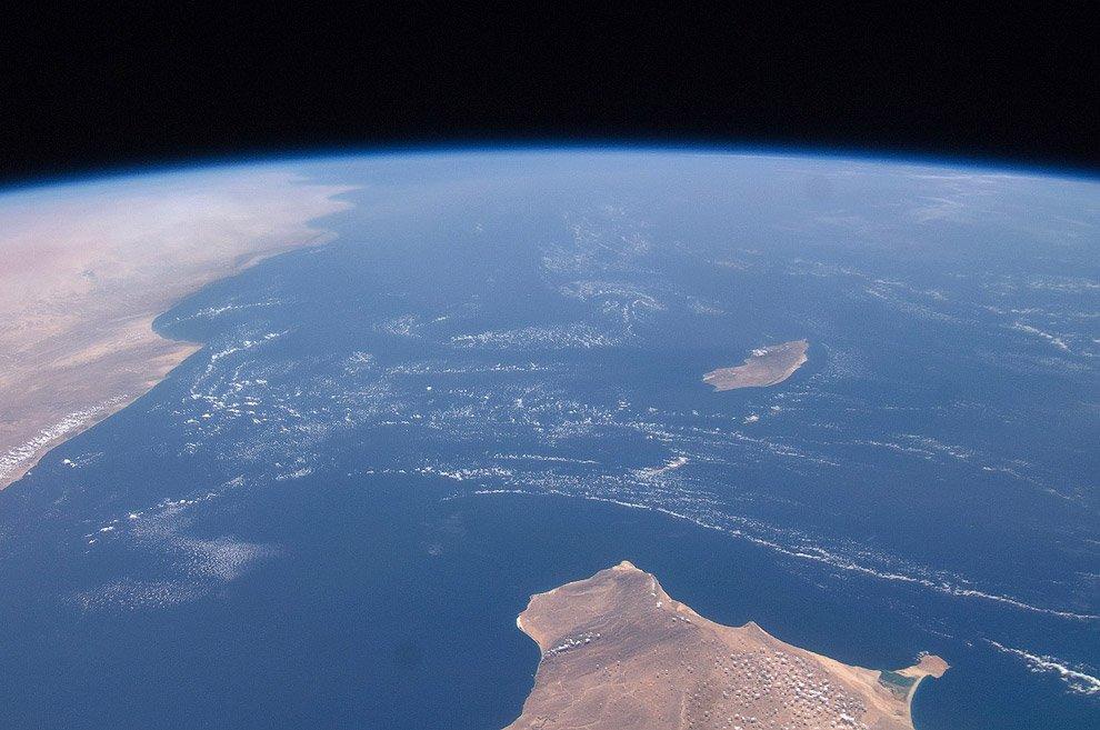 один океан фото с космоса должен