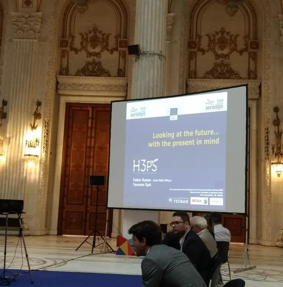 test Twitter Media - Iniziativa e @tecnam partecipano agli #Aerodays2019 di Bucarest. Ecco alcuni scatti dell'intervento di oggi dell'Ingegnere Fabio Russo sul progetto #H3PS , finanziato da @EU_H2020 e curato da Iniziativa con il contributo tecnico di Tecnam. https://t.co/SonwiYRdFg