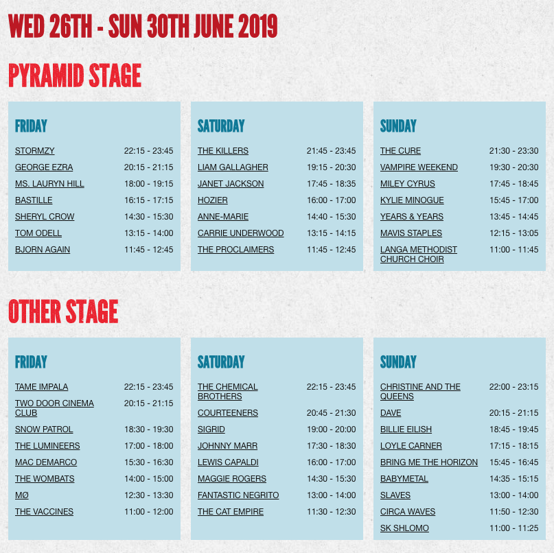 638de6ca0 Head to https://glas.to/2019-line-up to see details of more than 2,800  performances across dozens of stages at this year's Festival.pic.twitter.com/  ...